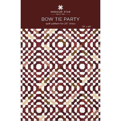 Missouri Star Bow Tie Party Quilt Pattern