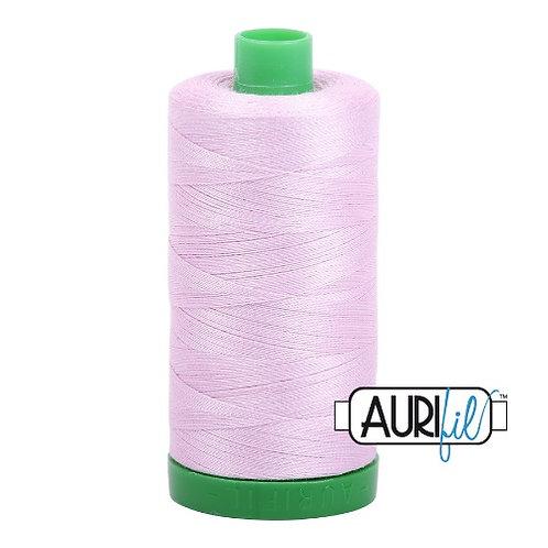 Aurifil 40 1000m 2510 Light Lilac Cotton Thread
