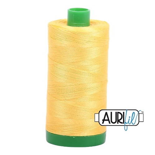 Aurifil 40 1000m 1135 Pale Yellow Cotton Thread