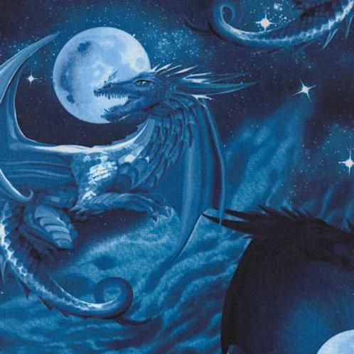 Blue Midnight Dragon