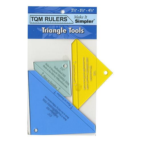 Triangle Tool 2.5in, 3.5in and 4.5in
