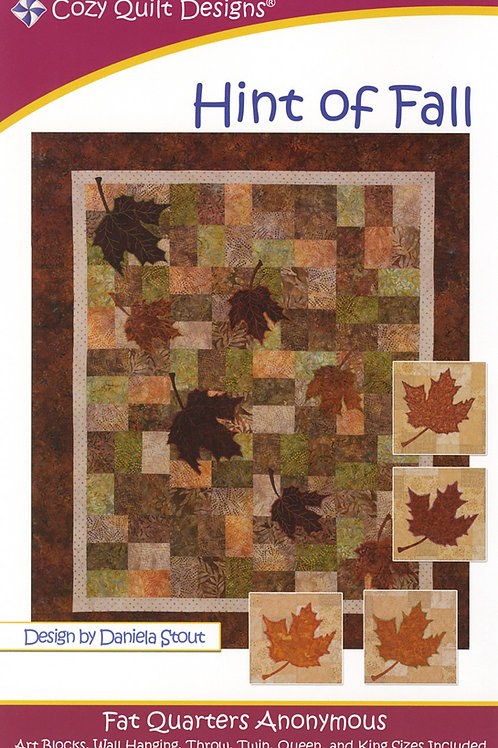 Cozy Quilt Designs Hint of Fall Quilt Pattern