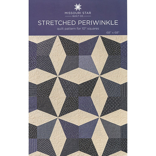 Missouri Star Stretched Periwinkle Pattern