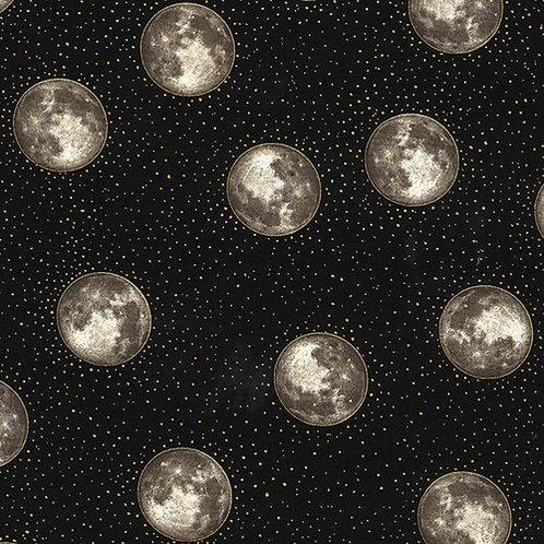 Hoffman Metallic Moons Fabric
