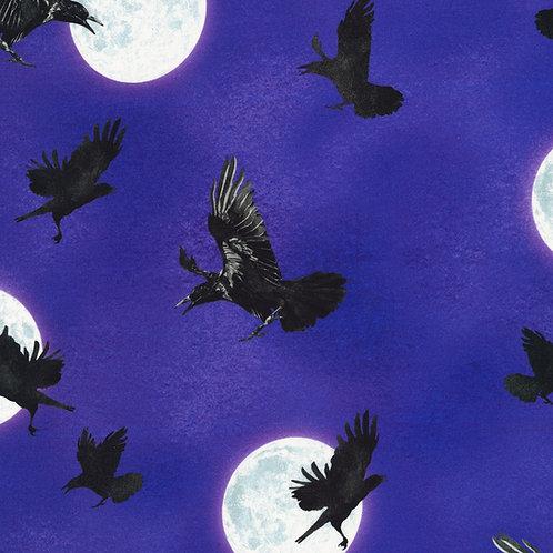Gumdrop Raven Moon Fabric