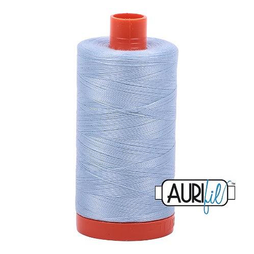 Aurifil 50 1300m 2710 Light Robins Egg Cotton Thread