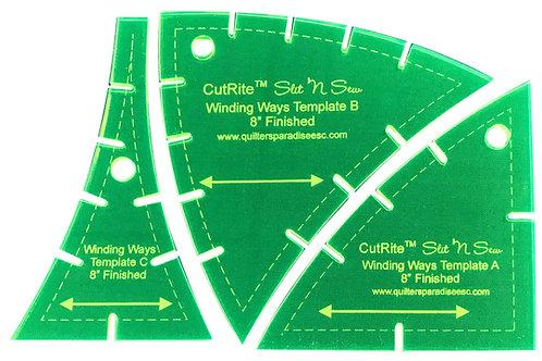 CutRite Slit N Sew Winding Ways Template