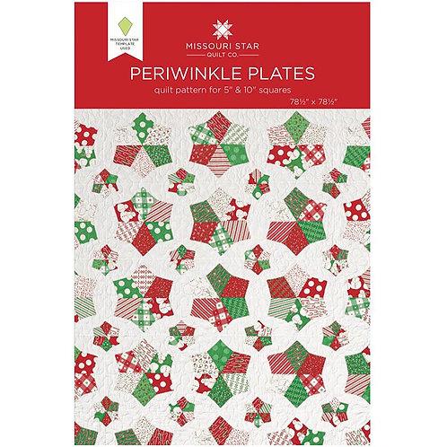 Missouri Star Periwinkle Plates Quilt Pattern