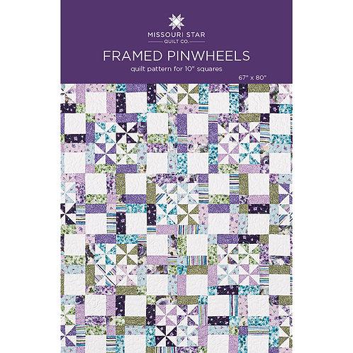 Missouri Star Framed Pinwheels Quilt Pattern
