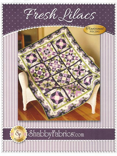 Fresh Lilacs Quilt Pattern