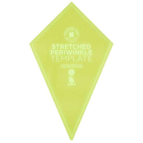 Missouri Star Quilt Company Stretched Periwinkle