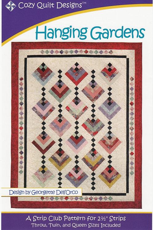 Cozy Quilt Designs Hanging Gardens Quilt Pattern