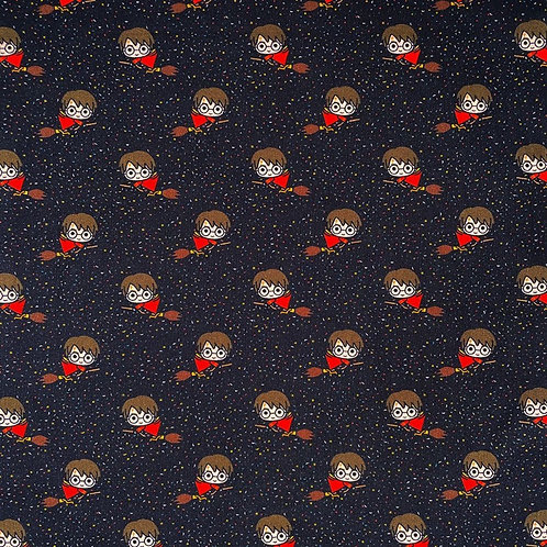 Harry Potter Harry Quidditch Broomstick Fabric