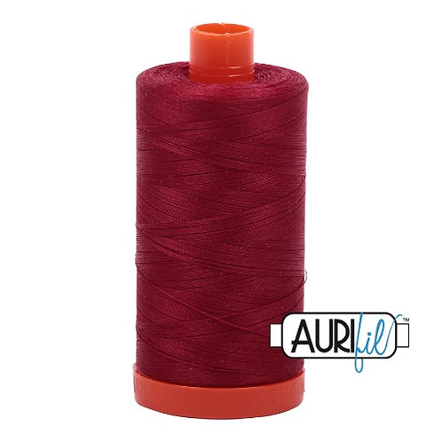 Aurifil 50 1300m 1103 Burgundy Cotton Thread