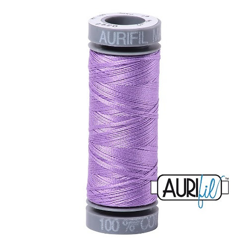 Aurifil 28 100m 2520 Violet Cotton Thread