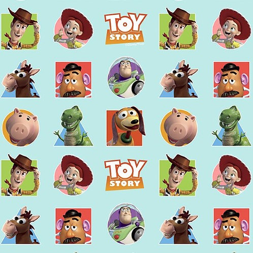 Disney Toy Story Patches Fabric