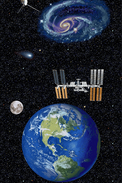 Planetary Missions Earth Panel.