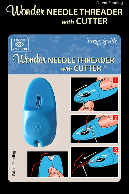Taylor Seville Needle Threader With Cutter