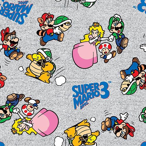 Nintendo Go Mario and Friends Fabric
