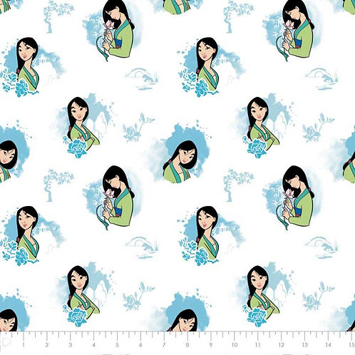 Disney Princess Mulan Bloom with Beauty Fabric