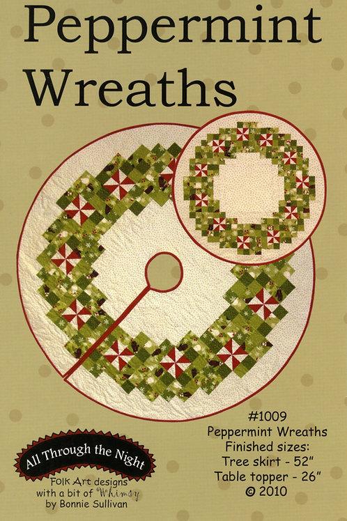 Peppermint Wreaths Pattern