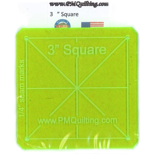"""PM Quilting 3"""" Square Template"""