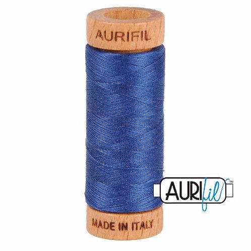 Aurifil 80 280m 2775 Steel Blue Cotton Thread