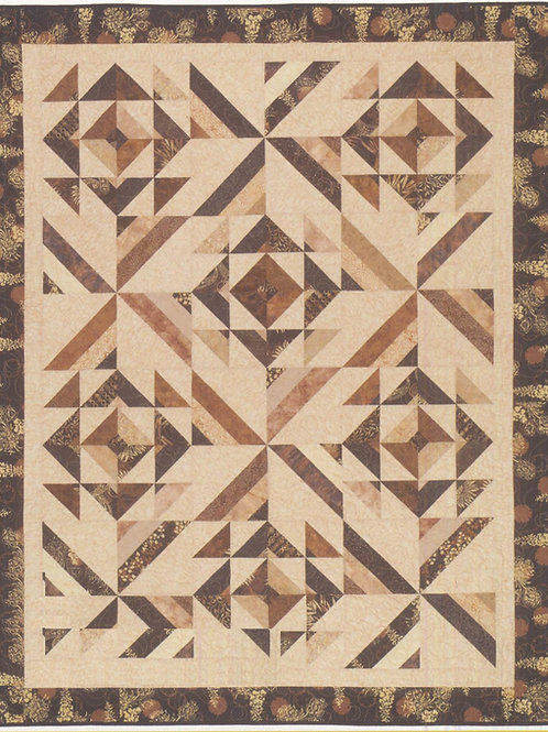 Cozy Quilt Designs Multifaceted Quilt Pattern