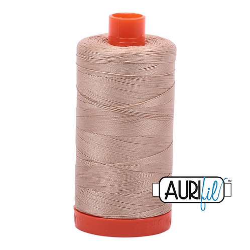 Aurifil 50 1300m 2314 Beige Cotton Thread