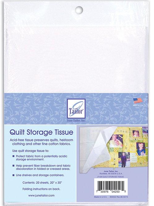 Quilt Storage Tissue
