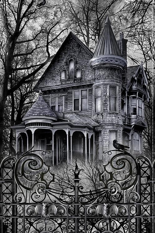 Wicked Haunted House Halloween Panel