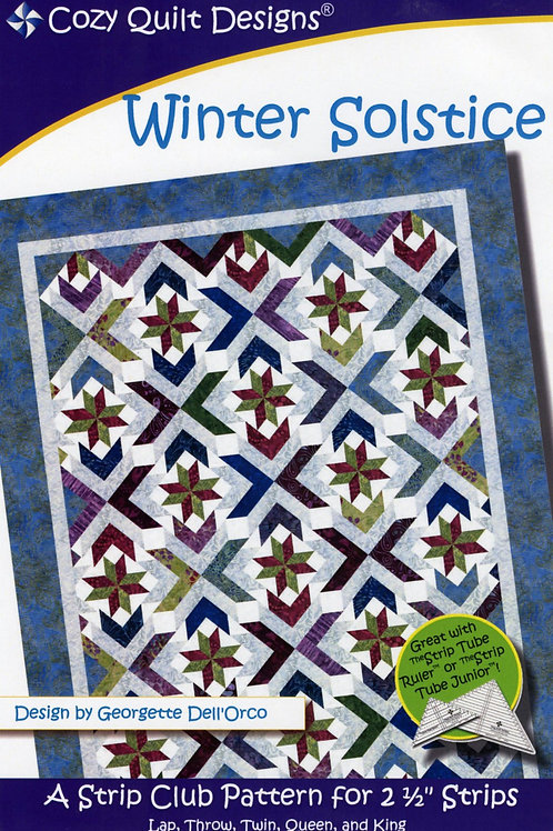 Cozy Quilt Designs Winter Solstice Quilt Pattern