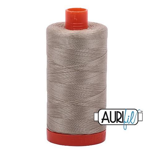 Aurifil 50 1300m 2324 Stone Cotton Thread