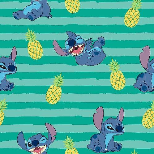 Lilo and Stitch Stripe Fabric