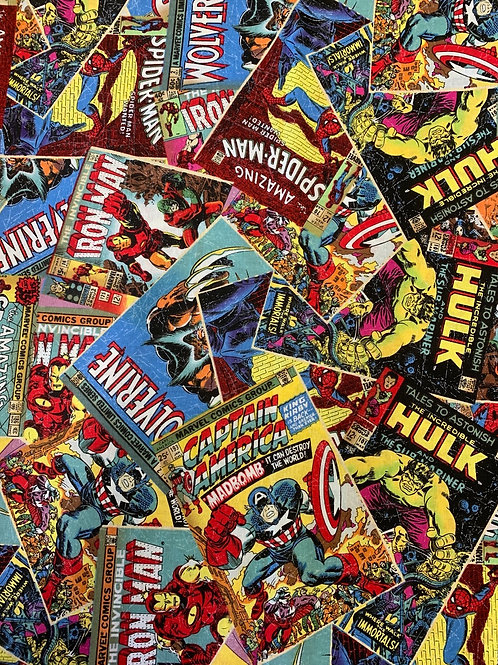 Marvel Comic Book Covers