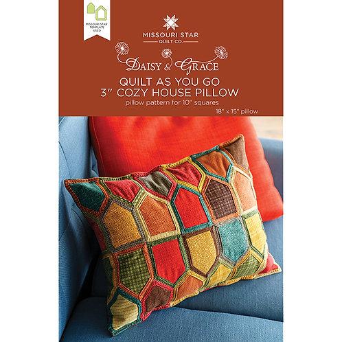 "Missouri Star 3"" Cozy House Pillow Pattern"