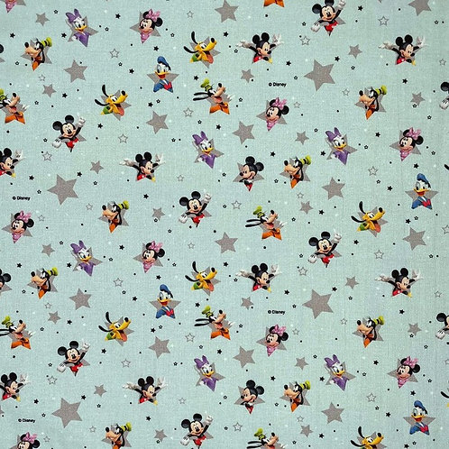 Disney Mickey Mouse Stars Fabric