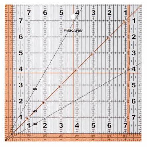 Fiskars 8-1/2 in Square Acrylic Ruler