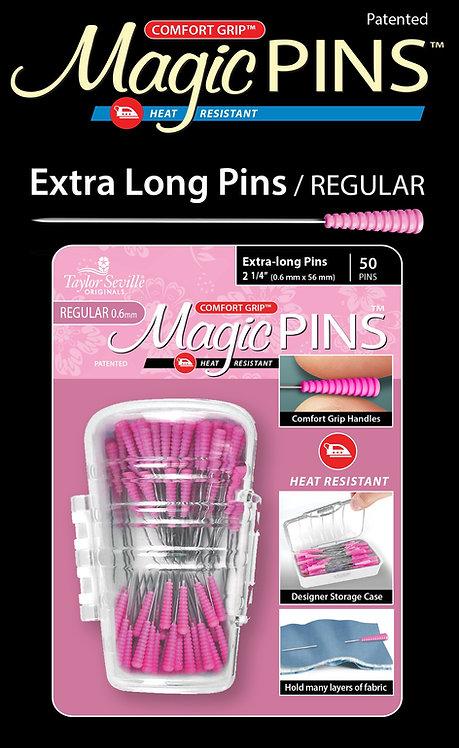 Taylor Seville Extra Long Regular Magic Pins 100pk