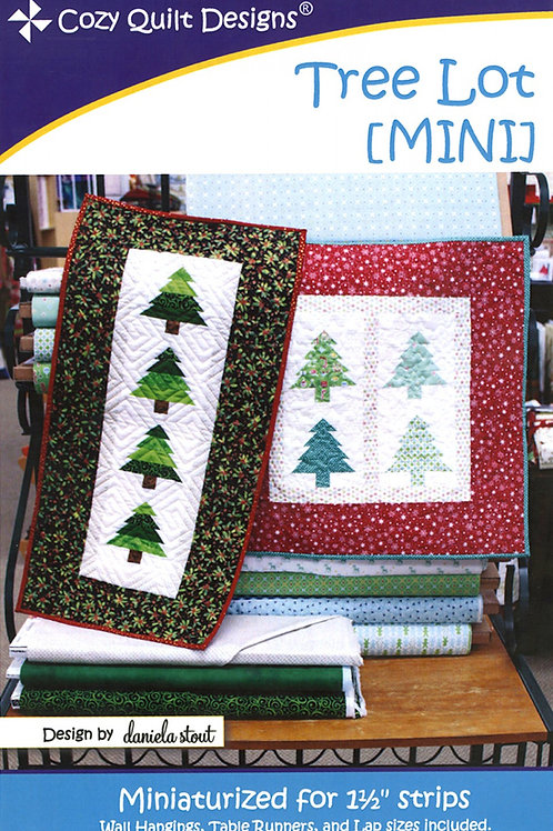 Cozy Quilt Designs Tree Lot Mini Quilt Pattern