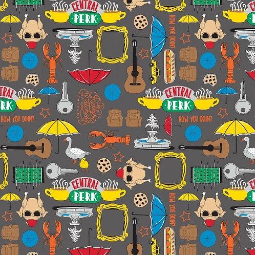 Friends Stuff Fabric