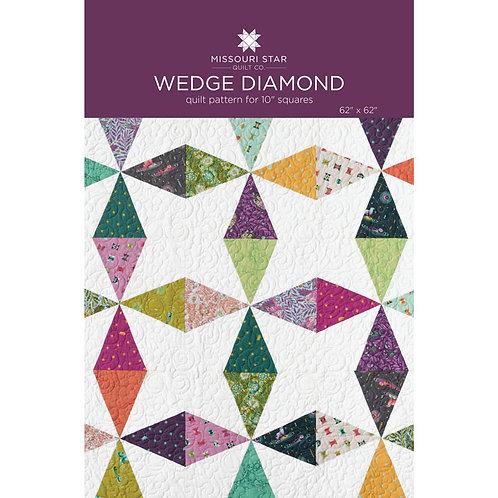 Missouri Star Wedge Diamond Quilt Pattern