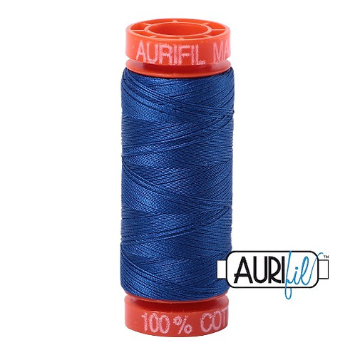 Aurifil 50 200m 2735 Cotton Thread Medium Blue