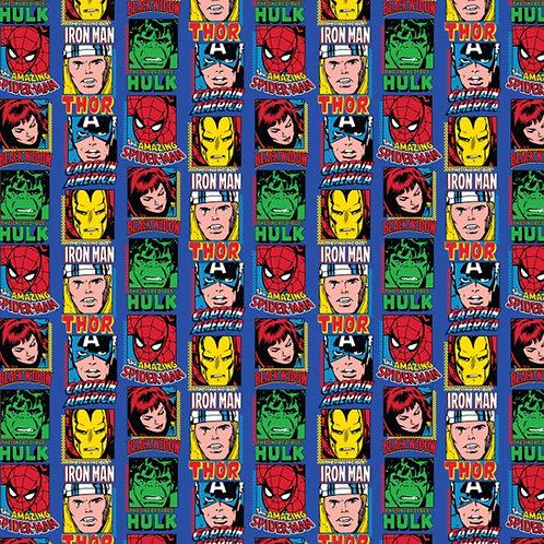 FLEECE - Marvel Comic Fleece Fabric