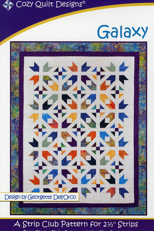 Cozy Quilt Designs Galaxy Quilt Pattern