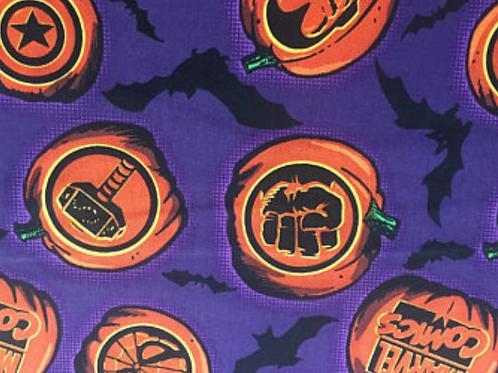 Marvel Halloween Purple Fabric