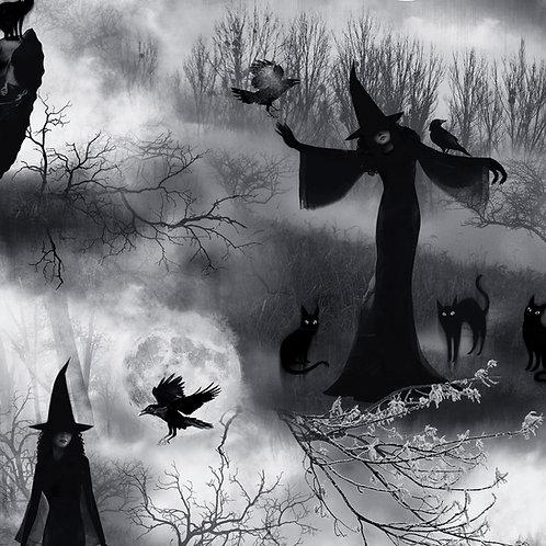 Grey Wicked Fog Witch