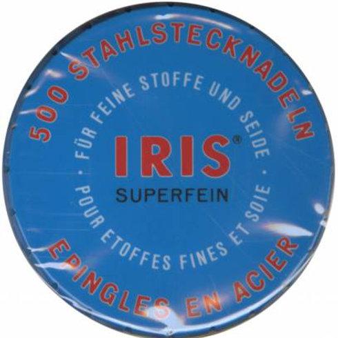 GS Iris Pins Superfine Pins Size 20 1-1/4 500ct