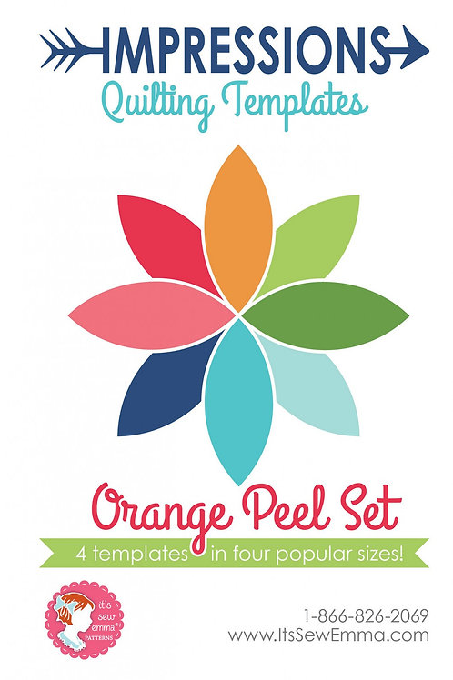 Orange Peel Template Set from Its Sew Emma