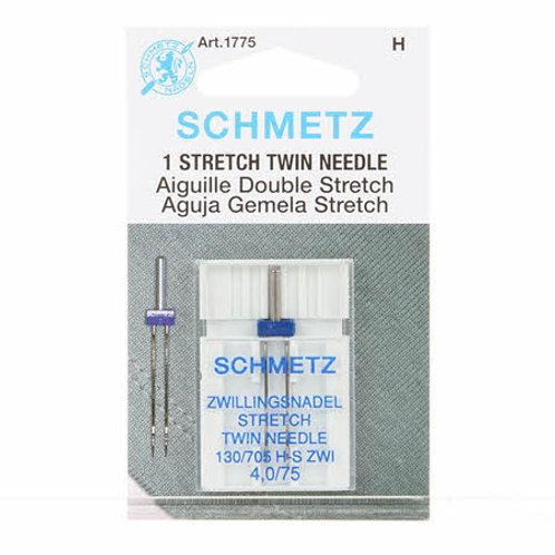 Schmetz Twin Stretch Needle Size 4.0/75